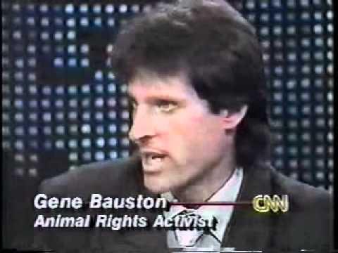 Gene Baur Vs John Lang on Larry King Live, 1991 - part 1