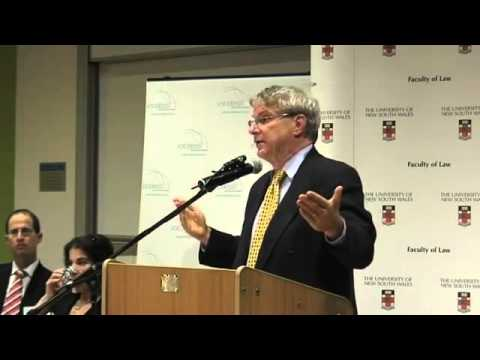 Keynote Address -- Animal Law Lecture Series, Australia