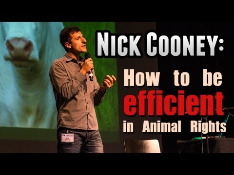 The science of animal advocacy, Nick Cooney at IARC 2013 Luxembourg