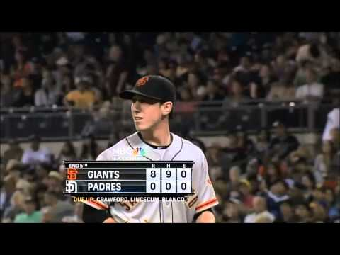 Tim Lincecum No Hitter All 27 Outs