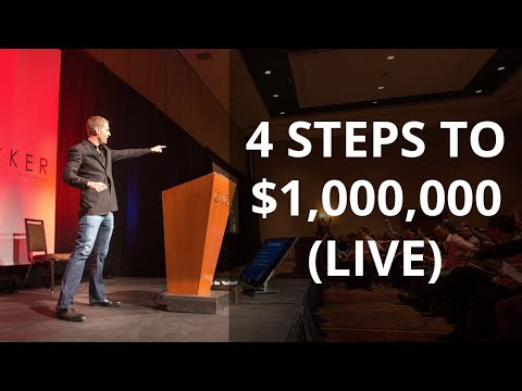 4 Steps To A $1,000,000 Business (Must See Alex Becker Live Talk)