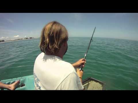 Extreme Canoe Fishing Tarpon!