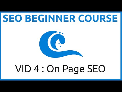 The SEO Beginners Course Part Four (On Page SEO)