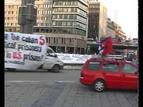 Homenaje en Estocolmo a la Revolución Cubana y a Martí.