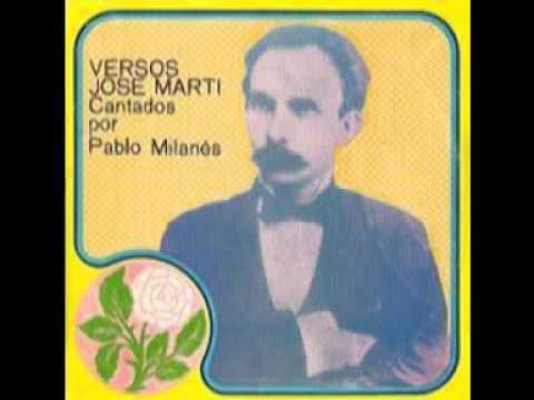 Pablo Milanés- Yo soy un hombre sincero. Versos de José Martí.