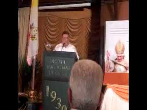 Marino Murillo. El papa propone a Cuba buscar nuevo modelo