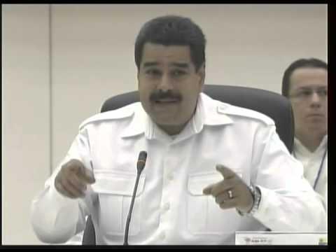 Discurso del Presidente venezolano Nicolás Maduro en la Cumbre del ALBA-TCP sobre el Ébola