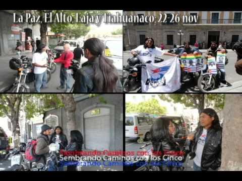 GRUPO SEMBRANDO CAMINOS CON LOS CINCO. BOLIVIA I parte. Copacabana- 19 Nov-Santa Cruz 4/12/12)