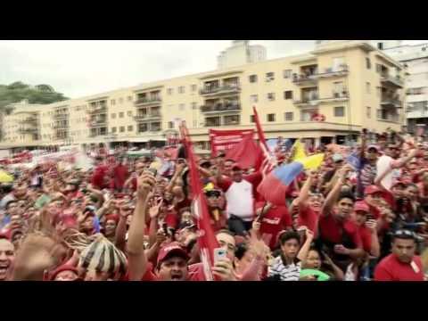 """VIDEO """"Chávez Corazón del Pueblo"""" Hany Kauam, Los Cadillacs y Omar Enrique Campaña Carabobo 2012"""