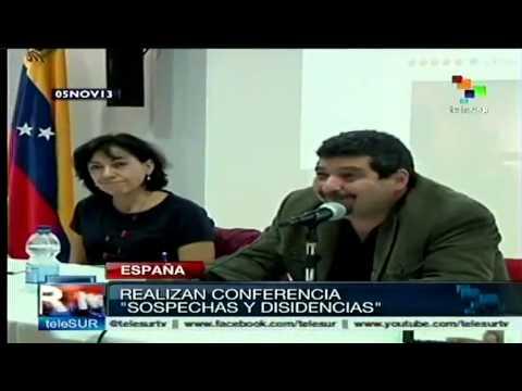 """Iroel Sánchez presenta la conferencia """"Sospechas y disidencias"""""""
