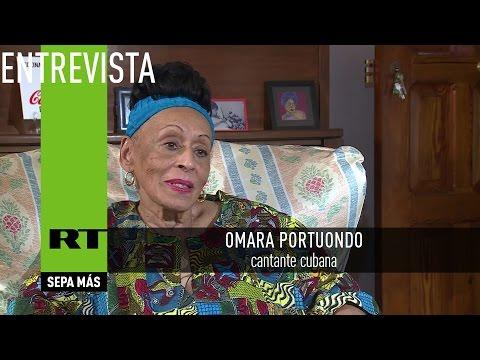Entrevista con Omara Portuondo, cantante cubana
