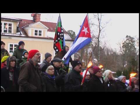 Estocolmo rinde homenaje a Fidel
