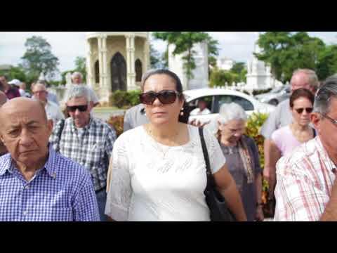 Brigada Antonio Maceo y Alianza Martiana rinden tributo en el cementerio de Colón.