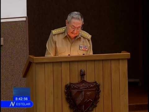 Raúl interviene en la Asamblea Nacional del Poder Popular