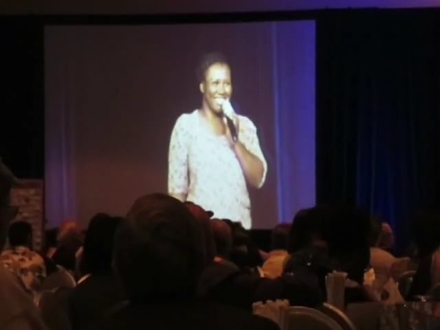 "Burn survivor, Johanna, Sings ""Killing Me Softly"" at the 2015 World Burn Congress."