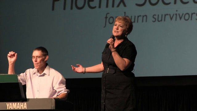 Phoenix Society's 2012 World Burn Congress-Guest Speaker Bill Ester and Wife Perform