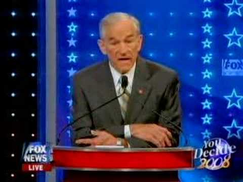 Ron Paul Courageously Speaks the Truth