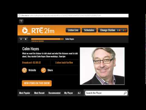 Simple methods/Official Offer 2FM ColmHayes