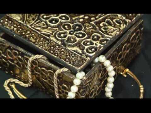 Χρήση ρελιέφ και εφαρμογή φύλλου χρυσού Μέρος 2