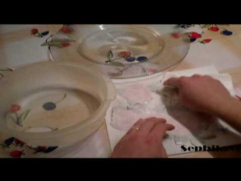 cracklè country σε γυαλινο πιάτο με πολλά άλλα στην ...ουρά να  δείτε όταν τελειώνει αυτό