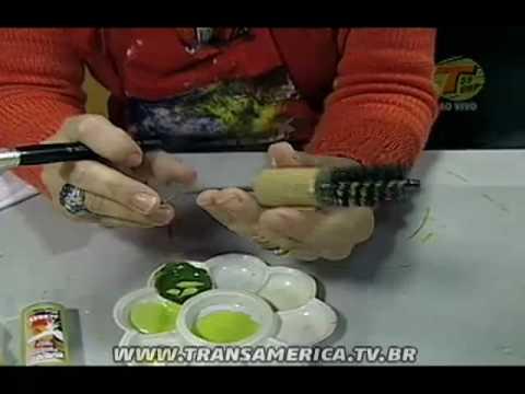 Tv Transamérica - Artesanato: Bombona - Parte 2