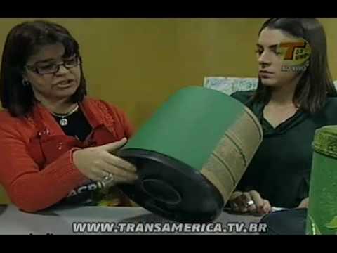 Tv Transamérica - Artesanato: Bombona - Parte 1