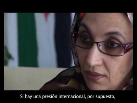 Aminetou Haidar, Con el viento de cara