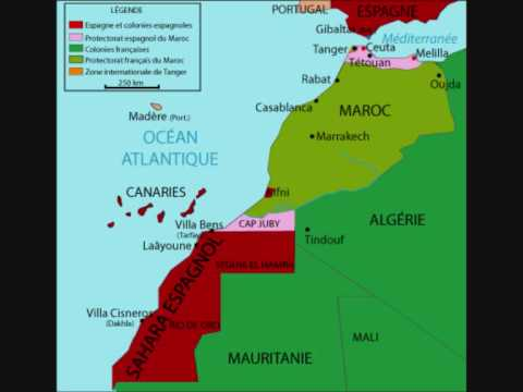 historia del sahara occidenta 1ºparte