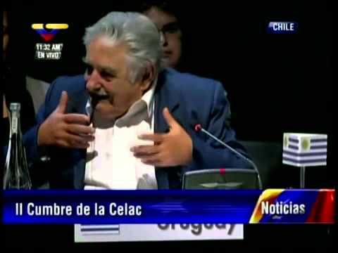 Discurso de José Pepe Mujica, Presidente de Uruguay, en la Cumbre de CELAC en Chile
