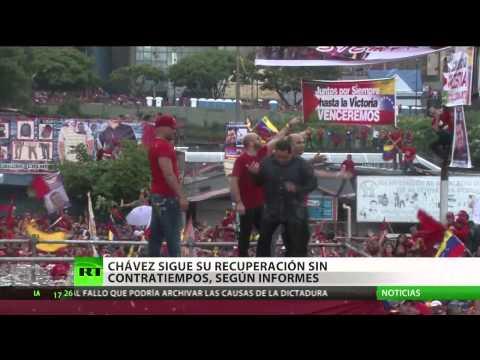 """Cabello: Chávez sigue su tratamiento """"sin contratiempos"""""""