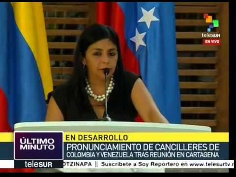 Rodríguez: Venezuela ha sido una patria de cobijo para colombianos
