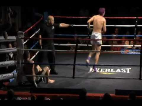 Justin Greskiewicz  vs. Dustin Blake, Muay Thai
