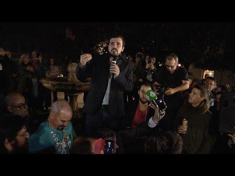 Discurso de Alberto Garzón en plaza de Los Carros (Madrid 15.12.2015)