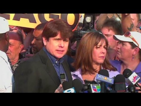Rod Blagojevich says 'bye' before going to prison