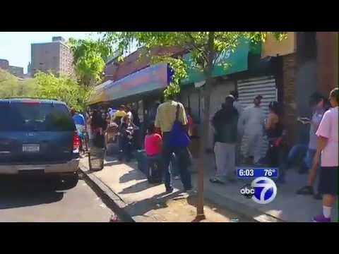 """Obama Money"" Scam Has People Lined Up In NYC"