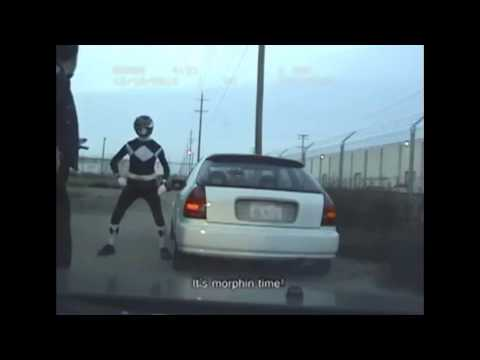 Black Ranger Pulled Over by Cop (RACIST?)(Arrested?)