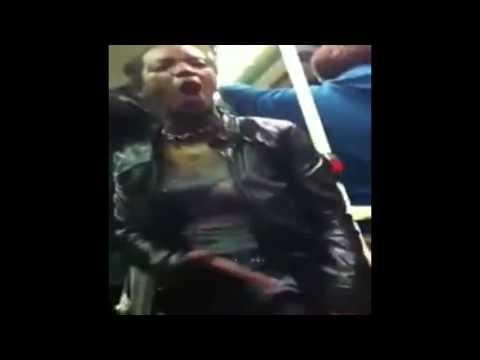 Strong Black woman talkin bout Pink Folk