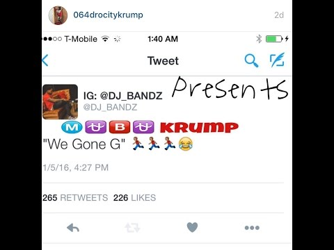 "MuBu Krump ""We Gone G"" (Official Video)"