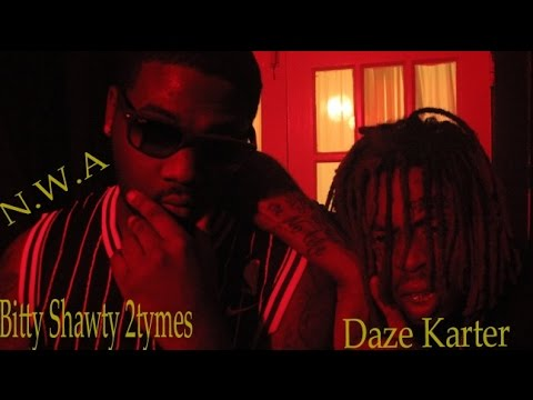 NWA- Bitty Shawty 2tymes/ Daze Karter (Official Video)