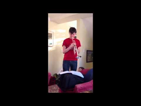 Henry 12.27.13 Christmas trumpet