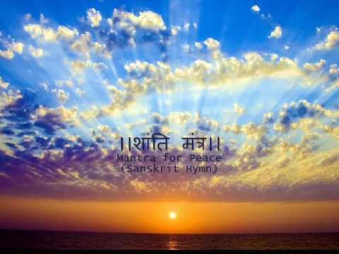 Happy New Year 2011 -  Hindu Sanskrit Hymn for Peace.