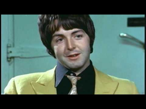 Paul McCartney interview from a 1968 BBC documentary