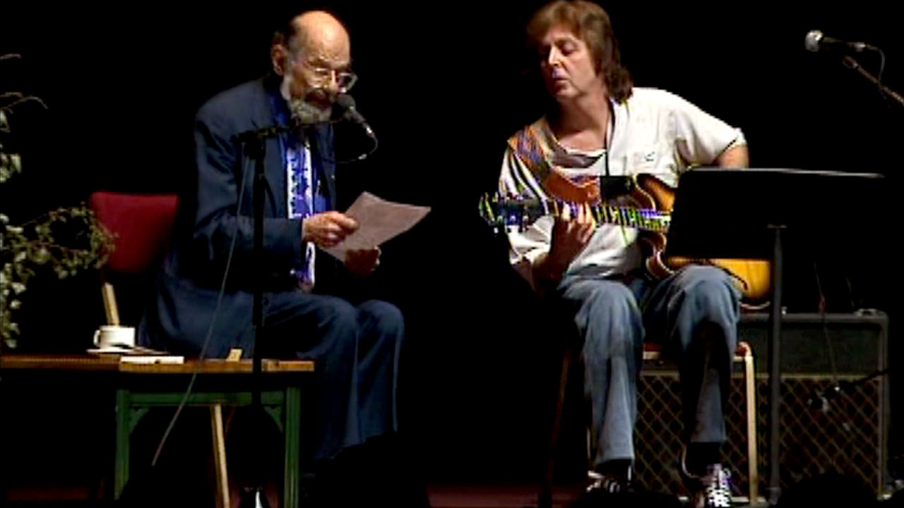 Allen Ginsberg and Paul McCartney 'A Ballad of American Skeletons'