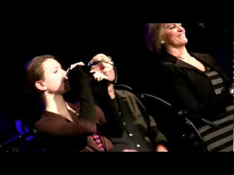 """""""REVOLUTION"""" THE NUTOPIANS w/15 yr old Maggie Coffin! John Lennon Imagined @ The City Winery 1/22/12"""