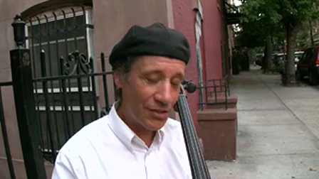 """Peter Lewy """"Some Other Way"""" cellist found on West 4th on the 4thof July asks me to shoot a song he wrote"""