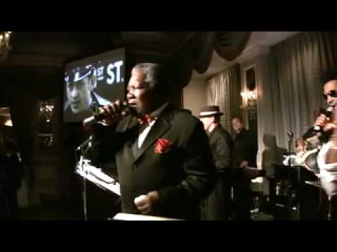 """""""UNDER THE BOARDWALK"""" CHARLIE THOMAS of The Drifters  @ Guardian Angels Gala 6/10/10"""