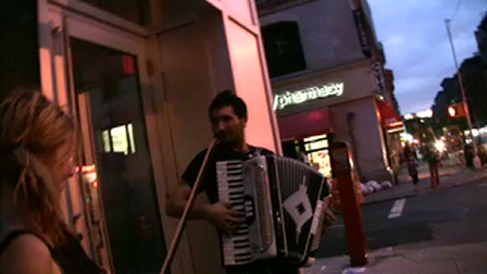 """Buskers on Bleecker Street: The Homeless People """"All of Me"""""""