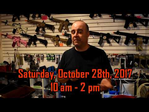 October Swap-Meet at Replay Airsoft Arena
