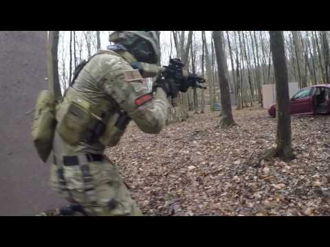 BIG Airsoft GAME at Robinhood Paintball