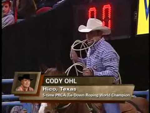 Cody Ohl's 6.9 second run